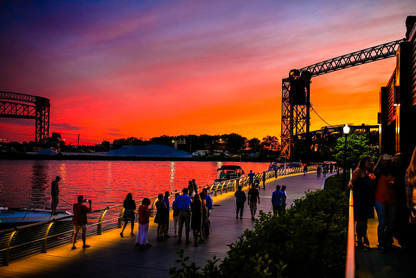 Cleveland Summer Sunset