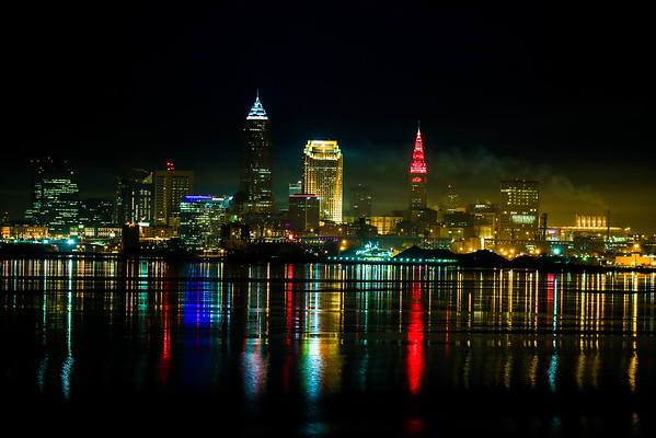 Early Morning Winter Cleveland
