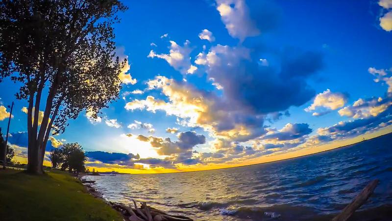 Whiskey Island Sunset Timelapse Video 1