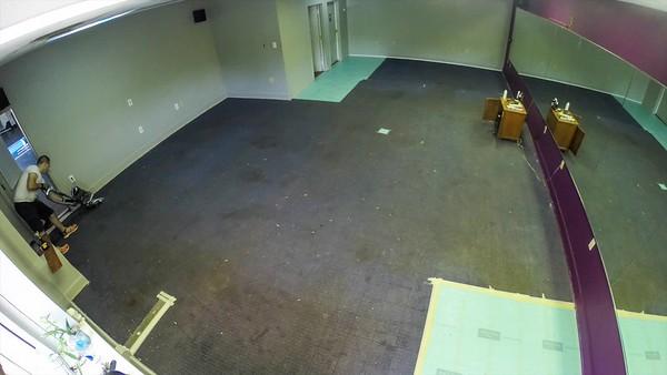 Installing New Floor at Prana Yoga Studio