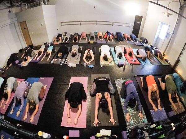 Prana Yoga Studio Thanksgiving Yoga Class Timelaspe