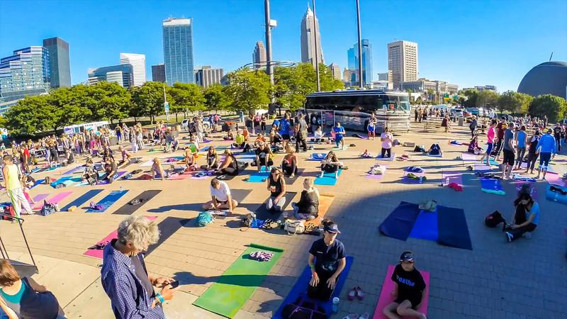 Rock Hall Yoga Timelapse 2