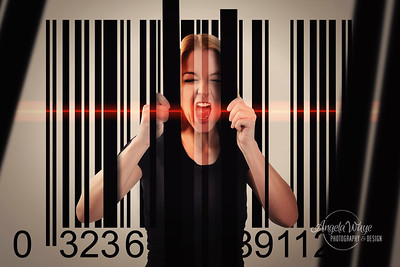 Human Trapped in Consumer Bar Code