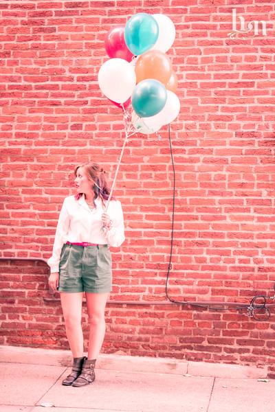 Rachel--Balloon Shoot