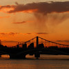 Battersea Bridge at Sunset