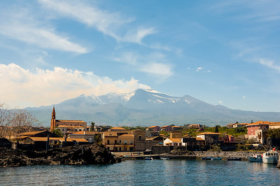 Etna View from Pozzillo
