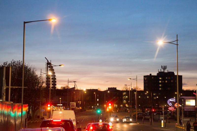 Tottenham Sunset