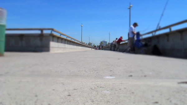 Venice Pier Walkers