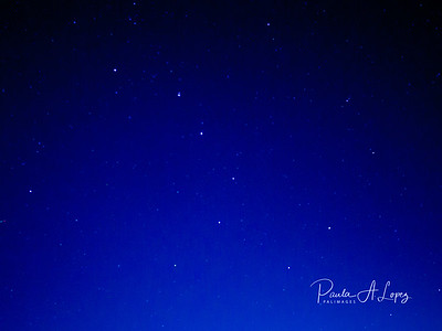 The Big Dipper.  Never forget to look up.  There it was right over my deck.