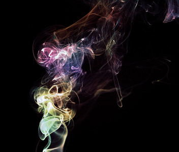 Still Smoke Photography  I really love those abstract patterns you get.  .  .  .