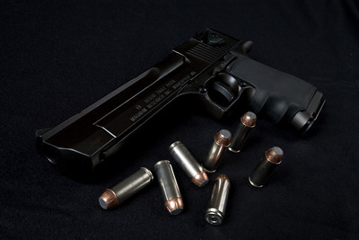 Desert Eagle .50 Cal semi-automatic