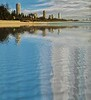 Burleigh Beach Reflected
