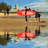 Surfers Reflected