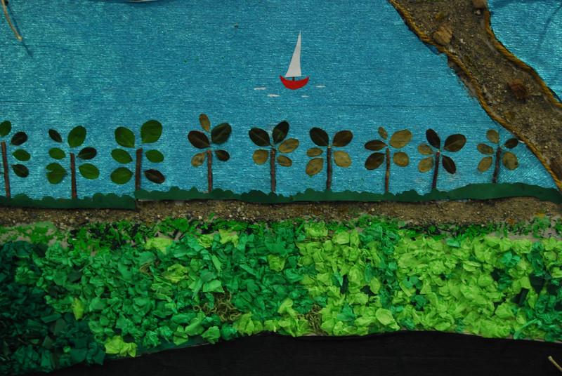 Sohini's collage landscape