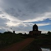 Kalachand temple under kala clouds
