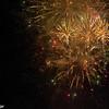 Fireworks at Tivoli in Copenhagen on New Year's Eve, 31 December 2013.