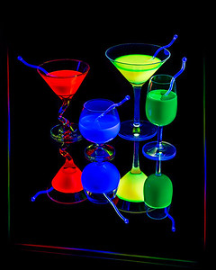 Drinking in the Neon Lights