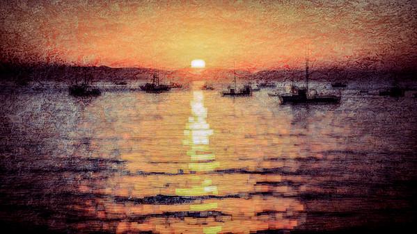 Port San Luis Sunrise