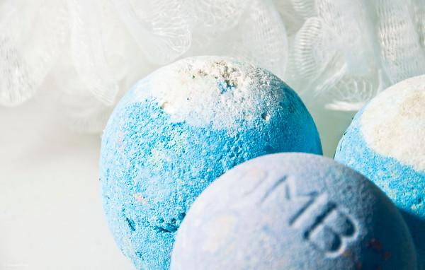 Week 5/52  BLUE  Bath Bombs