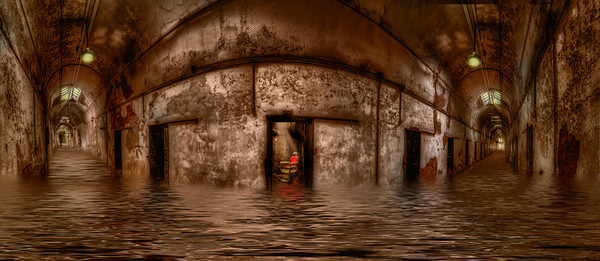 ESP red chair flooded 98 image HDR Panorama