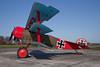 Fokker DR1 Triplane (Dreidekker) replica