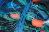 Posterised image of ropes and fishing paraphernalia, Dubai