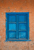 Posterized image of shuttered windows, Chile