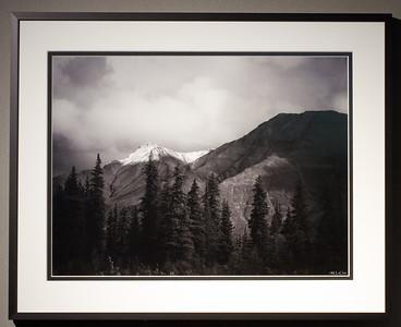 16 x 20 Metal Flat Black Frame