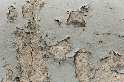 Concrete & Peeling Paint