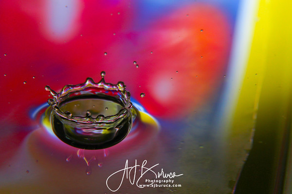 Crown Water Droplet