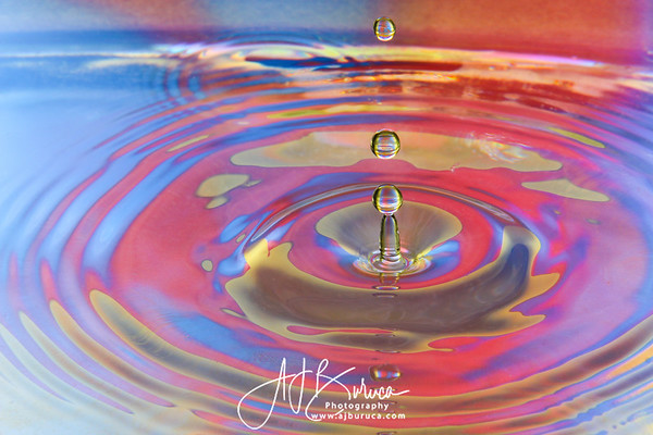 Triple Water Droplets (Pinnacle)