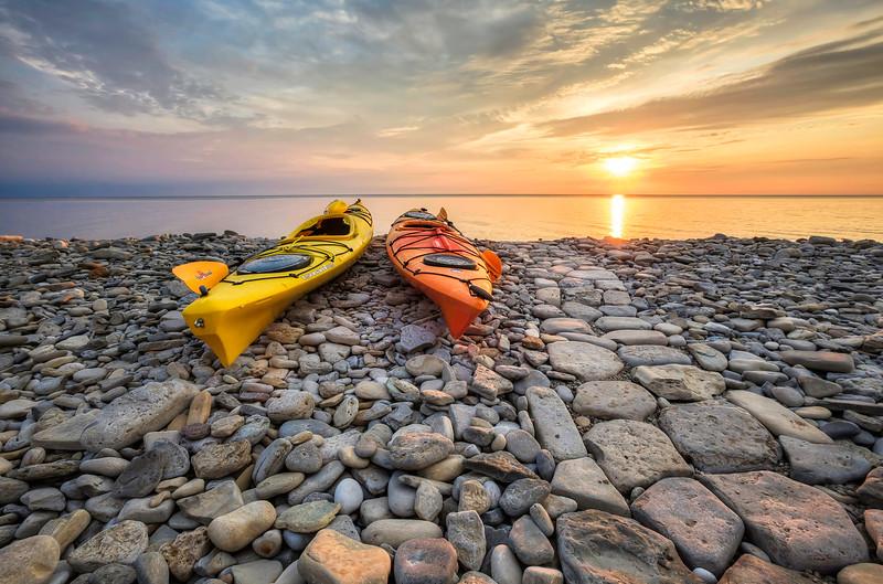Rocky Shore Sunrise