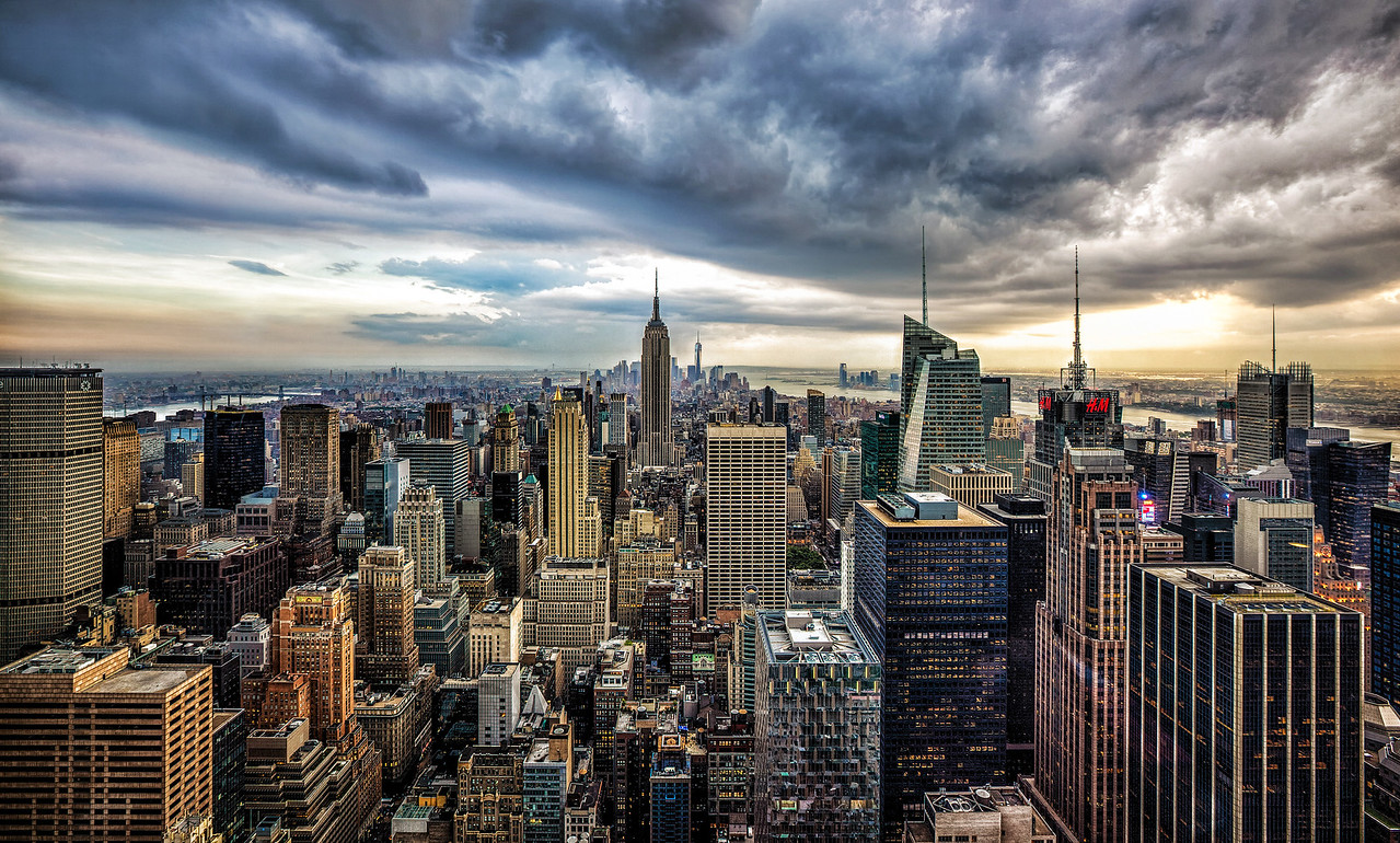 New York City Clouds