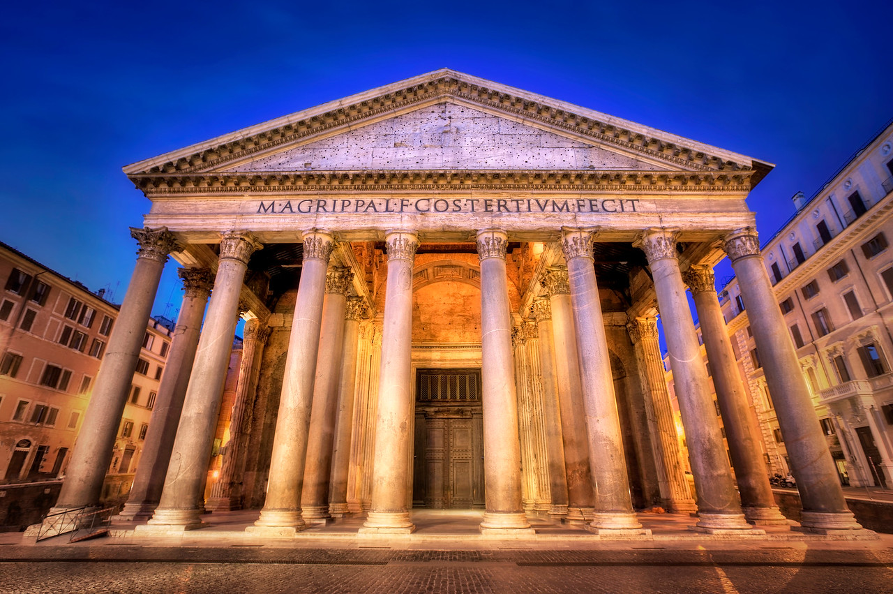 Early Morning Pantheon
