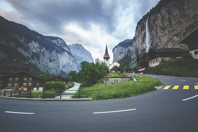 Cloudy Day Switzerland – This is a photo that I took in Lauterbrunnen, Switzerland. I shot this photo on a cloudy summer day. With the clouds hanging heavy in the sky, I decided to process this image using a moody/film look. I used The Film Roll Collection to achieve this matte look. The Film Roll Collection is the modern answer to creating that popular film look. In recent years there has been a resurgence of film style photography for weddings, portraits, and fashion. Mixing a little vintage with a little modern, the Film Roll Collection will bring a unique look to all of your photos! https://presetpro.com/landscape-photography-cloudy-day-switzerland/