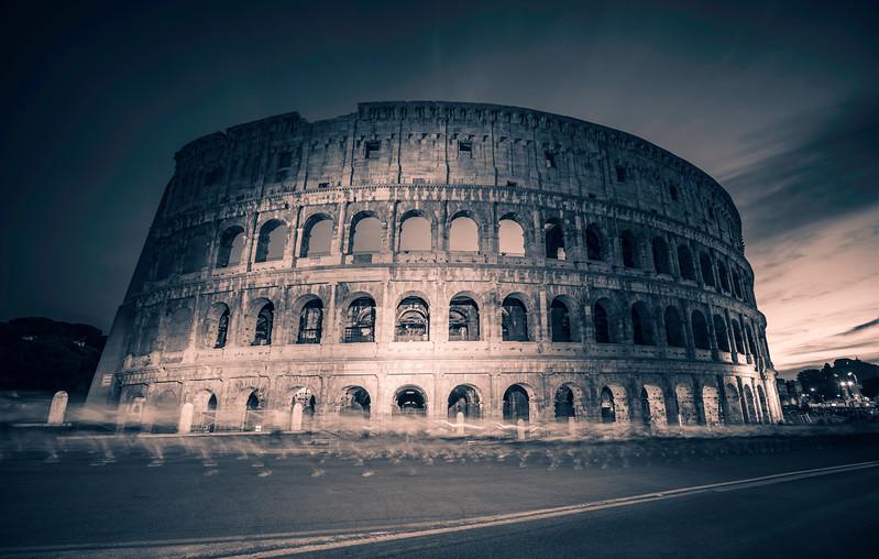 Ghosting Through Rome