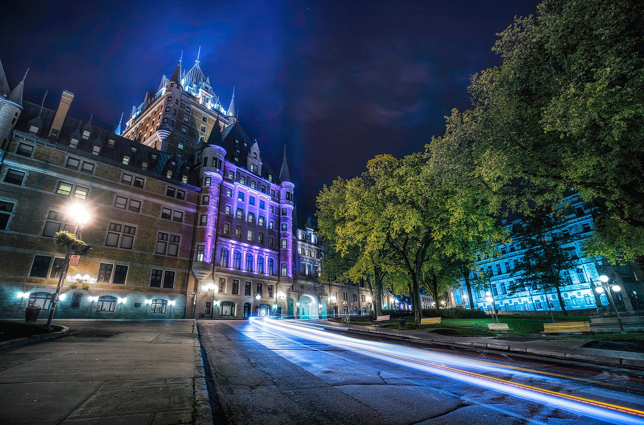 Quebec Light Trails - Tim Martin