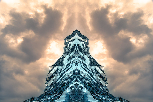Mirrored Ice Formation 2