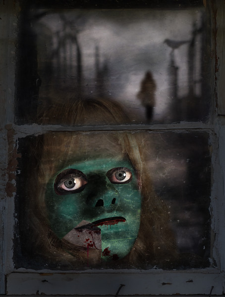 Mask at the Window