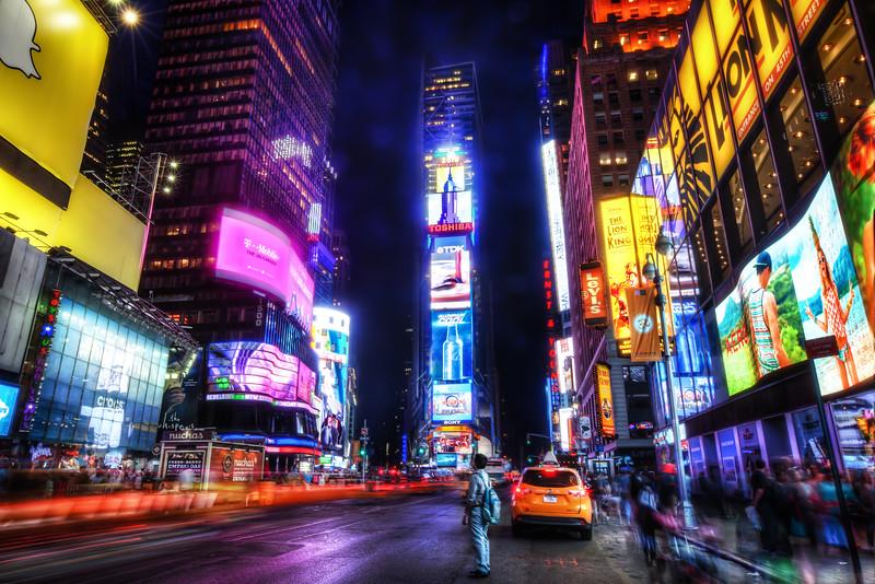 Electric Lights New York City