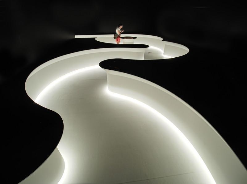 Lighted Path