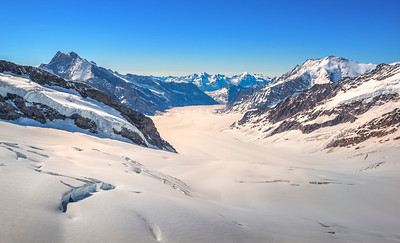 Ice Fields in Switzerland