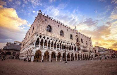 Glorious Sky in Venice