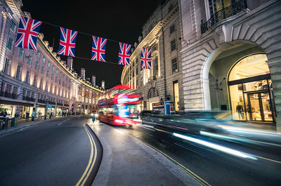 Regent Street at Night