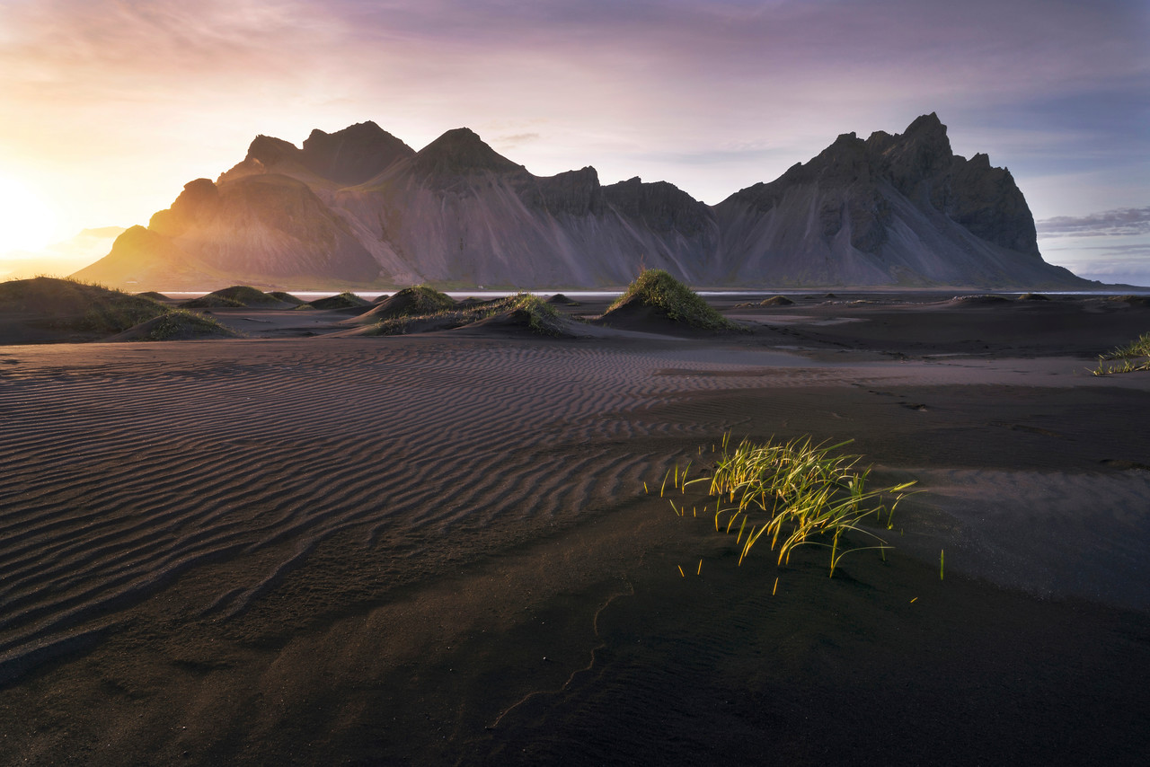 The Black Sands of Stokksnes