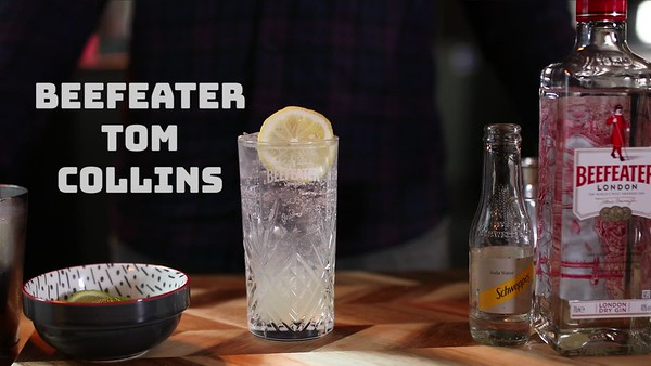 4. Beefeater Tom Collins