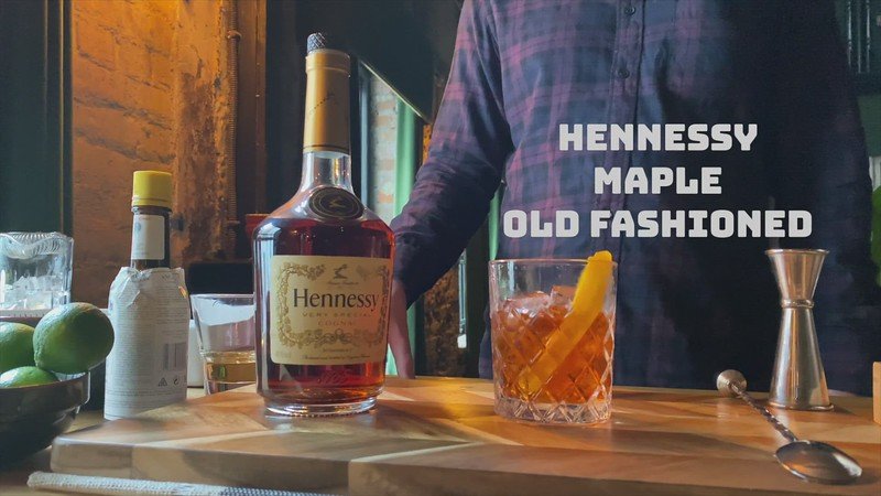 12. Henessy Maple Old Fashioned
