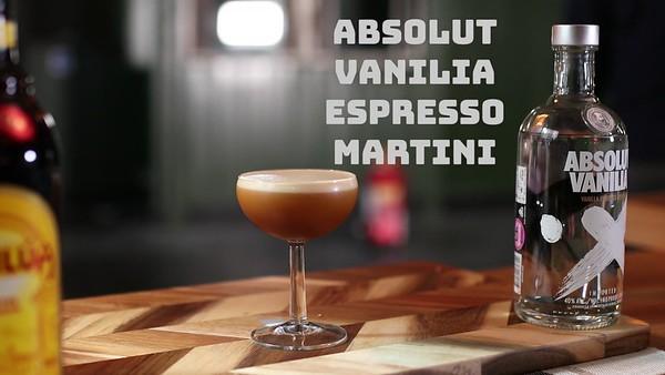 3.Espresso Martini Vanilia
