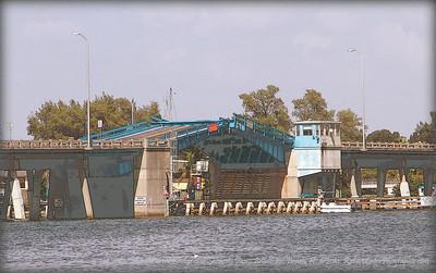Cortez Bridge over Sarasota Pass...Bradenton Beach,Fl.  ©2014  RobertLesterPhography.com