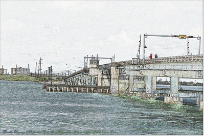 Florida Movable Bridges.....Pinellas Bayway,SR 679 over Boca Ciega Bay Main Channel(GIWW),Tierra Verde